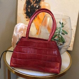 Mini Red Furla handbag